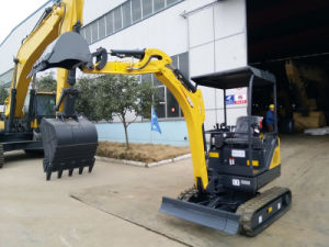 China Top Brand 1.8 Ton 0.05m3 Excavator for Sale pictures & photos
