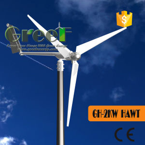 2kw Low Rpm Horizontal Wind Turbine for Sales Alibaba China pictures & photos