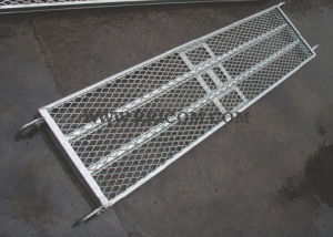 Hot DIP Galvanized Scaffold Footboard/ Steel Planks for Formwork pictures & photos