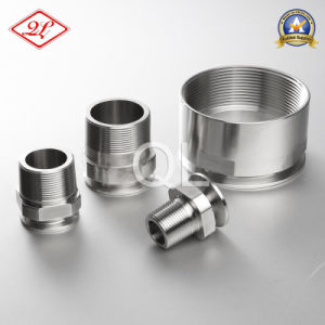 Sanitary Stainless Steel 21MP NPT Pipe Adaptor pictures & photos
