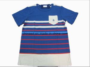 Little Boy′s Striped T-Shirt Ts13120