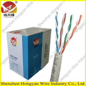 24awg 4pairs Solid UTP Cat5 LAN Cable
