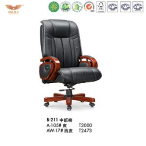 Office Wooden Executive Chair (B-211) pictures & photos