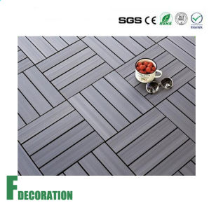 Easy Install Outdoor WPC DIY Decking Tiles pictures & photos