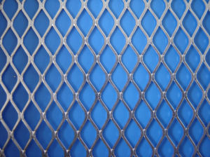 Aluminium Expanded Mesh, Expandable Sheet Metal Mesh pictures & photos
