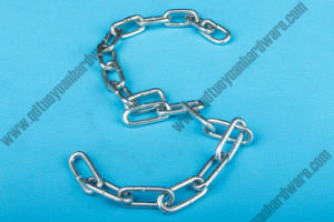 China Factory Price Long Link Chain Heavy Duty Lifting Chains pictures & photos