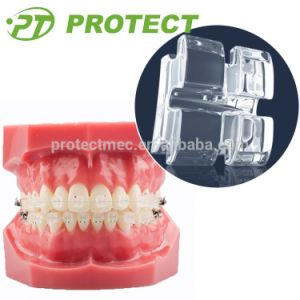 Protect Super Clear Ceramic Bracket Orthodontic Sapphire Brackets pictures & photos
