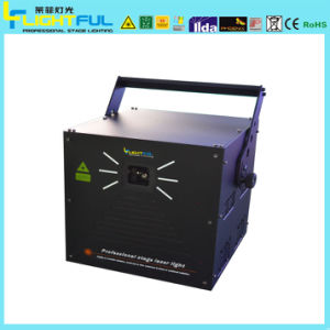 7W Cni R637MW RGB High Speed Scanning Laser Show System
