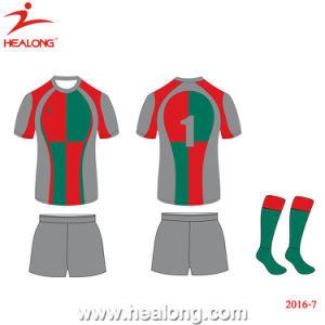 Healong Factory Full Sublimated Rugby Uniform for Sale pictures & photos