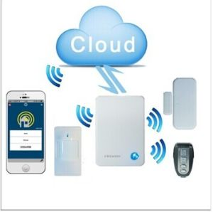 Wireless IP Cloud Alarm System with Mobile APP Controlled Anti -Theif pictures & photos