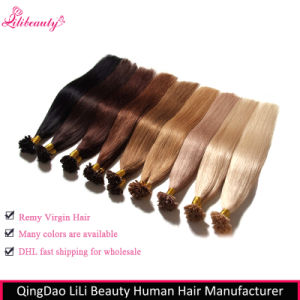 Wholesale 8A Malaysian Virgin Hair U-Tip Hair Extensions pictures & photos