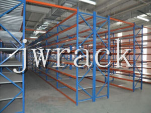 Warehouse Medium Three-Column Steel Shelf (JW-HL-872) pictures & photos