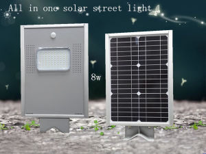 Hot Sale IP65 8W Price LED Solar Street Lights pictures & photos