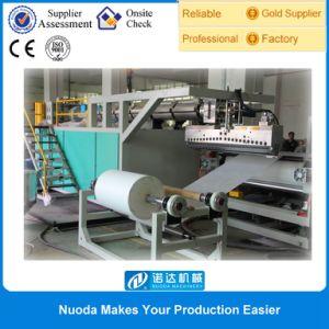 China Thermosetting Melt Adhesive Film Lamination Machine