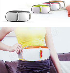 Electric Pain Relief Vibration Shiatsu Heat Body Slimming Massager Belt pictures & photos