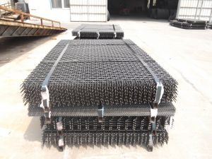 Properly Packed 65mn Quarry Screen Mesh/Crimp Mesh/Manganese Steel Wire Mesh with High Impact Strength and Abrasion Resistance