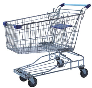 Wire Supermarket Grocery Shopping Trolley Dimensions Cart pictures & photos