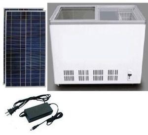 115L DC12V24V Solar Fridge Vehicle Refrigerator Double Door Freezing pictures & photos