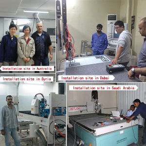 Polyurethane Foam Strip Sealing Machine pictures & photos