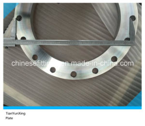 En1092-1 Type01 Dn400 F316L Stainless Steel Plate Flange pictures & photos