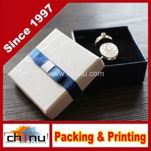 OEM Customized Paper Gift Jewelry Box (140002) pictures & photos