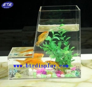 china custom min fancy fish tank table (btr-s2058) - china custom