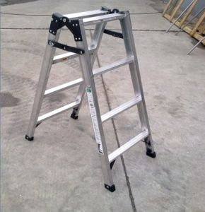 Light Aluminum Ladder for Daily Work