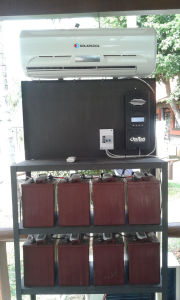 DC 12V Solar Air Conditioner pictures & photos