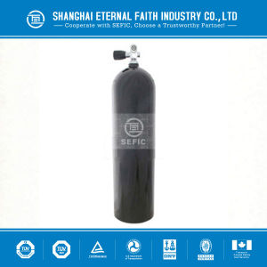 Scuba Diving Equipment Aluminum and Seamless Steel Oxygen Cylinder for Diving pictures & photos