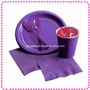 Biodegradeable Paper Dinnerware Set Pw-7