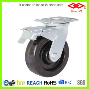 200mm Swivel Locking Heavy Duty Heat Resisting Caster (P701-61D200X50S) pictures & photos