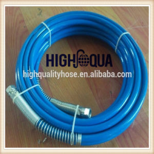 High Pressure PU Flexible Paint Spray Hose Made in China pictures & photos