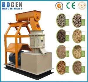 Automatic Animal Feed Pellet Machine/Flat Die Poultry Cattle Feed Pellet Machine with Factory Price pictures & photos