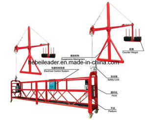 Zlp800 Steel Gondola with Power Cable, Wire Rope pictures & photos