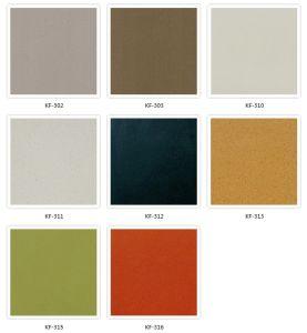 Kf-302 Mocha Java Simple Pure Color Quartz Stone pictures & photos