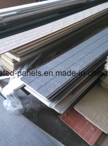 Insulation Embossed Metal Decorative PU Sandwichwall Panels pictures & photos