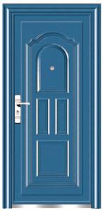 Top Quality Economic Single Steel Doors (EF-S022) pictures & photos