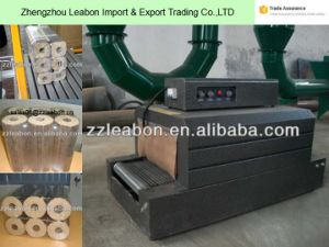 PE Contracting Pellicle Wood Briquette Wrapping Packing Machine pictures & photos