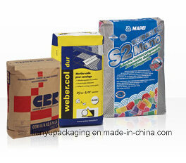Multiwall Pasted Valve Paper Tile Adhesive Bags pictures & photos