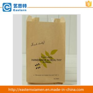 China Manufacturers Food Grade Flat Kraft Paper Bakery Bag pictures & photos