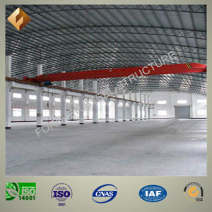 Arc Roof Prefab Steel Pipe Truss Storage