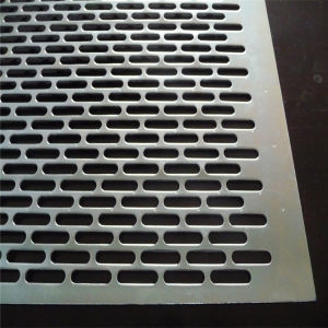 Galvanized Slotted Hole Perforated Sheet pictures & photos