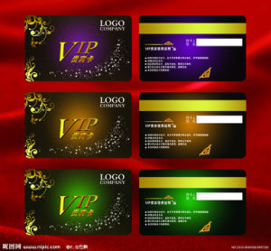 VIP Card Made by PVC Materials pictures & photos