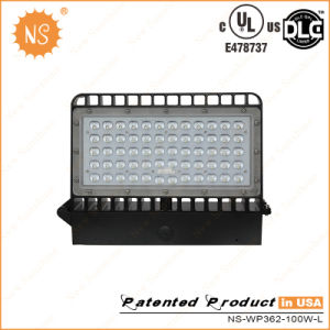 UL Dlc Listed IP65 Outdoor 100W LED Wall Mount Light