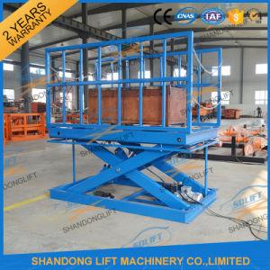 Hydraulic Warehouse Elevator Lift / Goods Elevator / Cargo Lift Platform pictures & photos