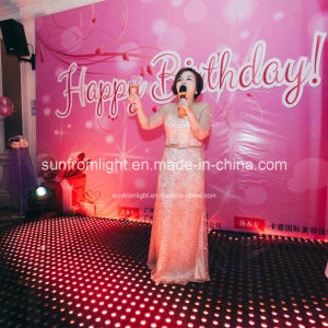 Tempered Glass Portable LED Party Dance Floor pictures & photos
