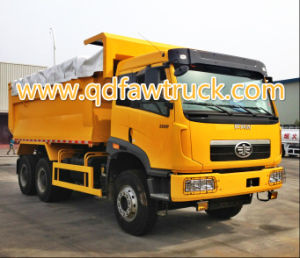 FAW New Model Tri-Ring 6X4 Heavy Dump Truck pictures & photos