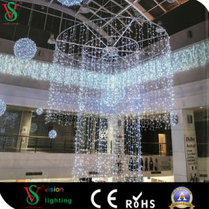 Indoor LED Curtain Light Christmas Shopping Mall Decoration pictures & photos