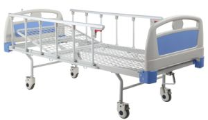 One Crank Manual Hospital Bed (SK-MB117) pictures & photos