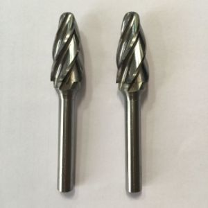 Solid Carbide Burrs with Aluminum Cut